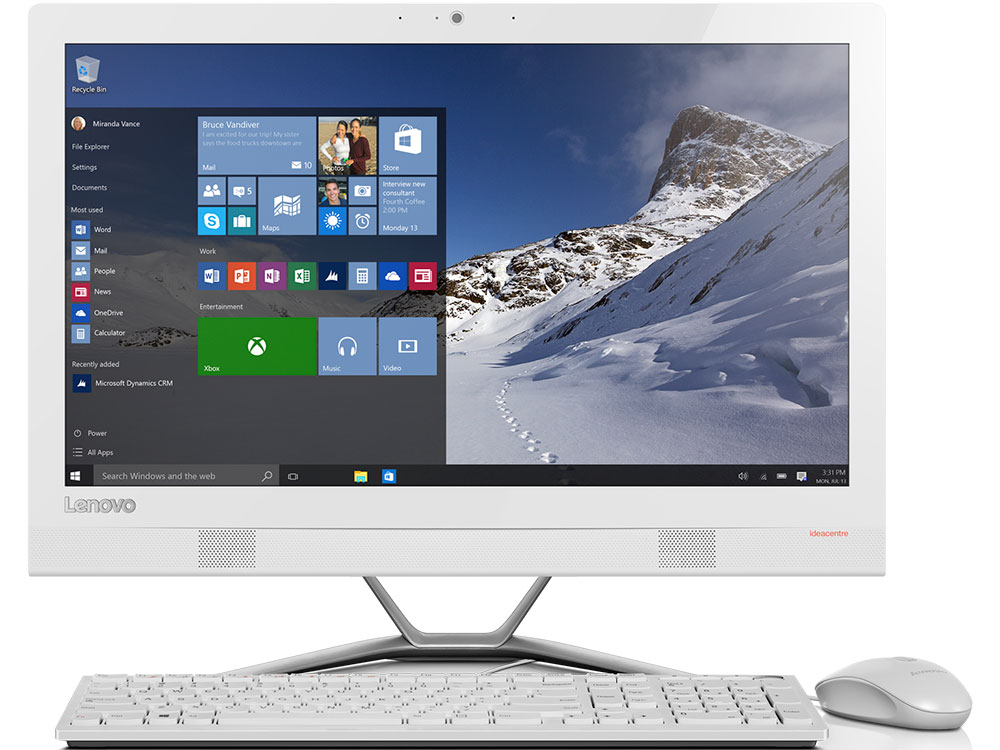 Моноблок Lenovo IdeaCentre 300-23ISU (F0BY00M9RK) i5-6200U(2.3GHz)/8GB/1TB/23