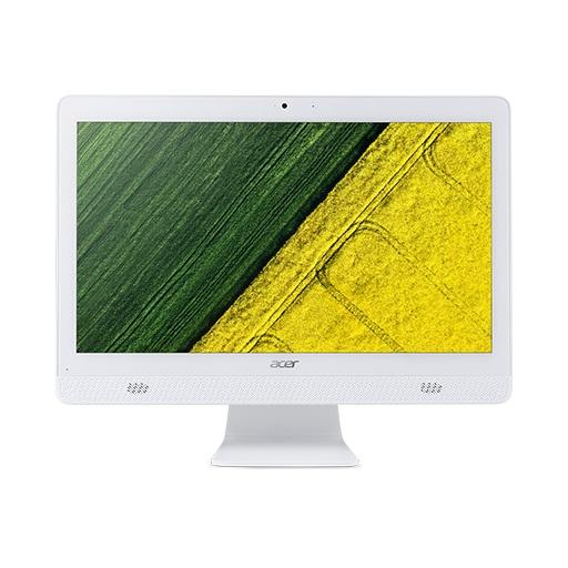 Моноблок Acer Aspire C20-720 (DQ.B6XER.008) Celeron J3060 (1.6) / 4Gb / 1Tb / 19.5 HD+ TN / HD Graphics 400 / DOS / White моноблок 21 5 acer aspire c22 720 dq b7aer 009 celeron j3060 1 6 4gb 500gb 21 5 1920x1080 intel hd400 dvd нет wifi bt dos silver