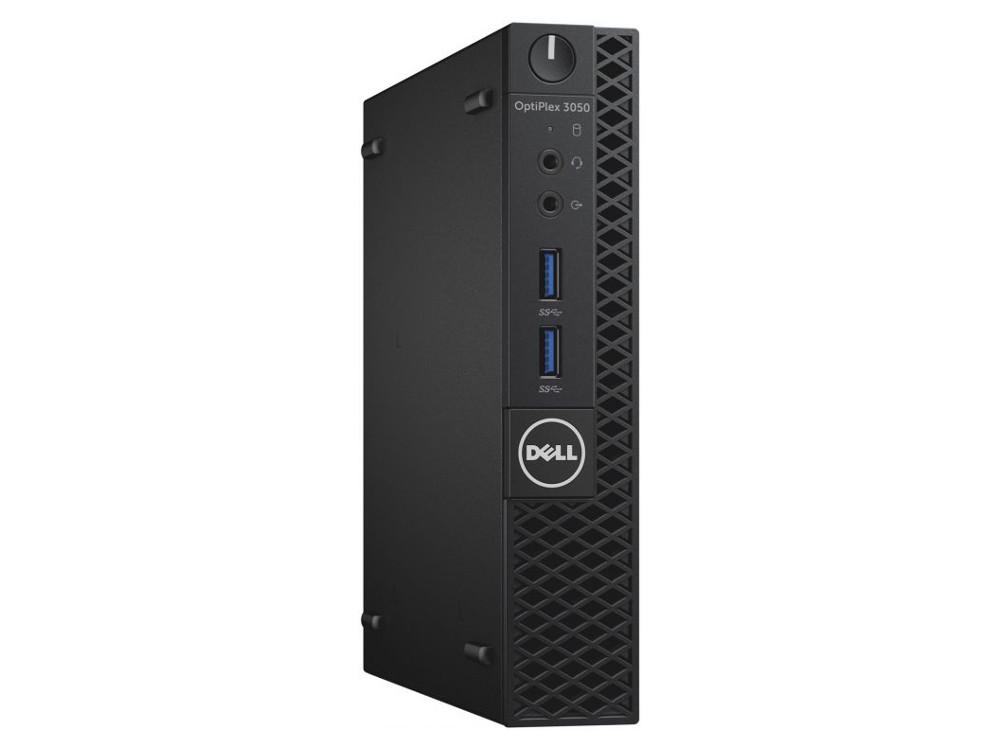 Системный блок Dell Optiplex 5050 Micro (5050-8312) i5-7500T (2.7)/8GB/500GB/Int: Intel HD 630/WiFi/BT/KB+M/Win10Pro (Black) системный блок dell optiplex 3050 sff i3 6100 3 7ghz 4gb 500gb hd620 dvd rw linux клавиатура мышь черный 3050 0405