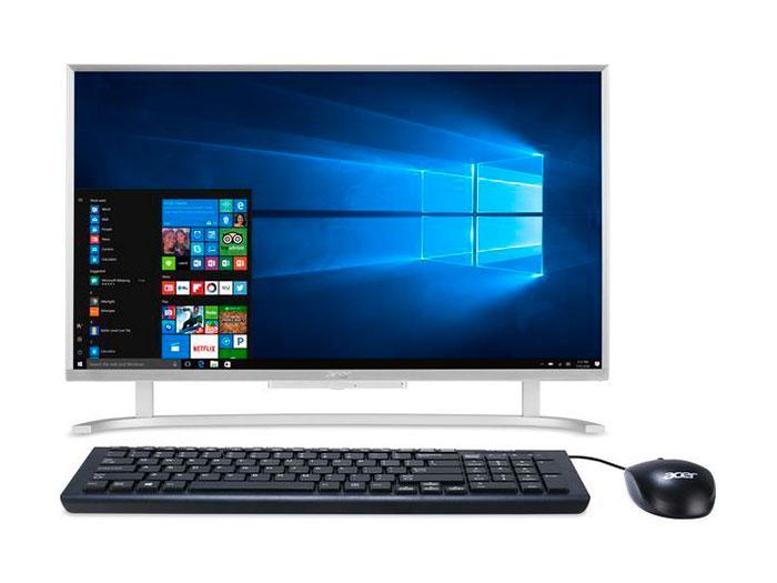 Моноблок Acer Aspire C22-760 (DQ.B8WER.005) i3 7100U (2.4)/4Gb/500Gb/21.5