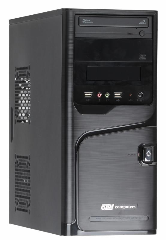Компьютер Office 140 Pro Pentium  G4600(3.60GHz)/4Gb/500Gb/SVGA(D-Sub, DVI-D)/Win10 Pro 64-bit материнская плата asus h81m r c si h81 socket 1150 2xddr3 2xsata3 1xpci e16x 2xusb3 0 d sub dvi vga glan matx