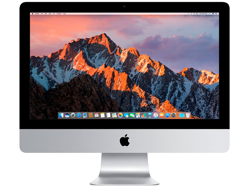 Моноблок Apple iMac 21.5 (MNDY2RU/) i5 (3.0GHz)/8GB/1TB/. 4096x2304/AMD Radeon Pro 555 2GB/macOS Silver
