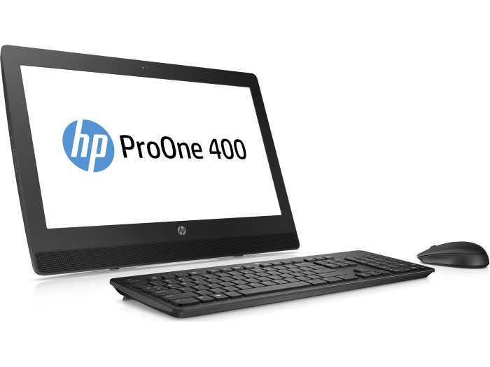 Моноблок HP ProOne 400 G3 (2RT93ES) i3-7100T (3.4)/4GB/1TB/DVD-RW/20 1600x900/WiFi/KB+mouse/Win10 Black моноблок hp proone 400 g2 v7q70es v7q70es