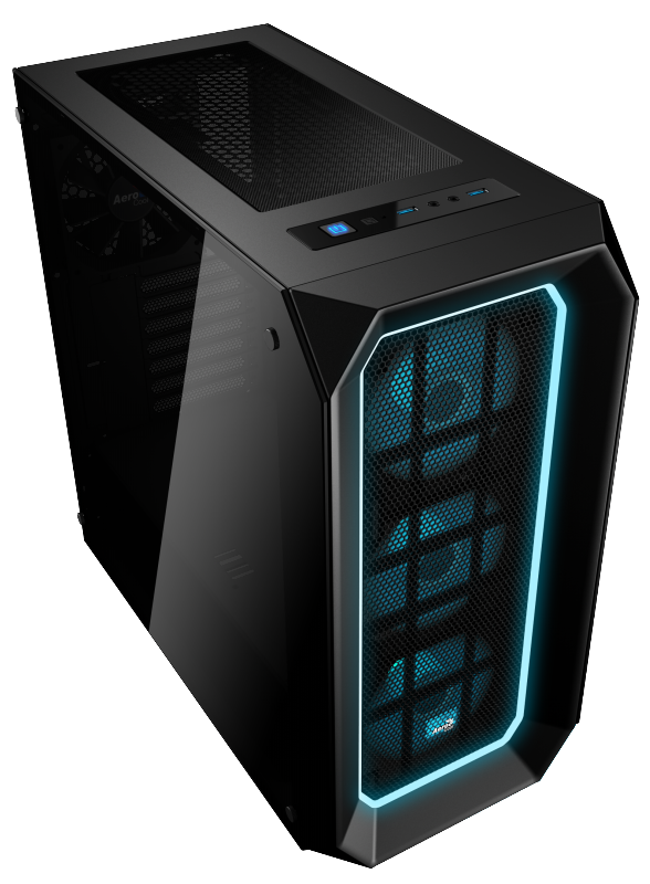 Компьютер Game PC 746 AMD Ryzen 7 1700X (3.8GHz)/16Gb/240Gb M.2 SSD/2Tb/8Gb VEGA 64/750W/Win10H SL 64-bit процессор amd ryzen 7 1700x oem yd170xbcm88ae