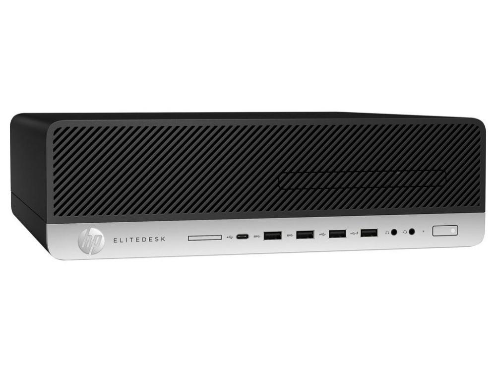 Системный блок HP EliteDesk 800 G3 SFF (Z4D07EA) i7-7700 (3.6)/4Gb/500GB/HD630/DVD-RW/KB/Mouse/Win10 Black