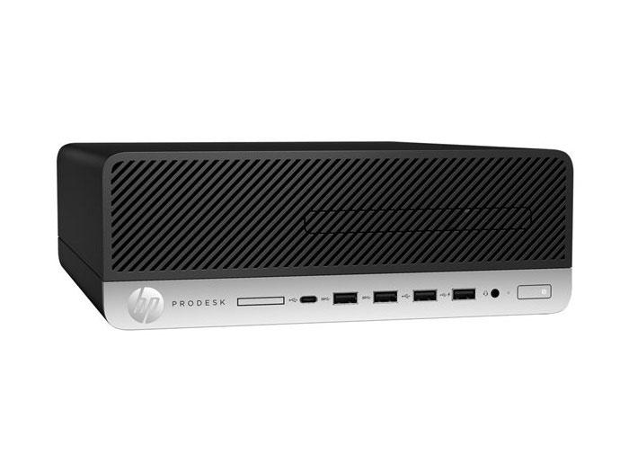 Компьютер HP ProDesk 600 G3 SFF Black / i5-7500 3.4GHz / 4GB / 500GB / встроенная HDG 630 / DVD-RW / Win10Pro настольный пк hp prodesk 600 g2 sff t4j52ea t4j52ea