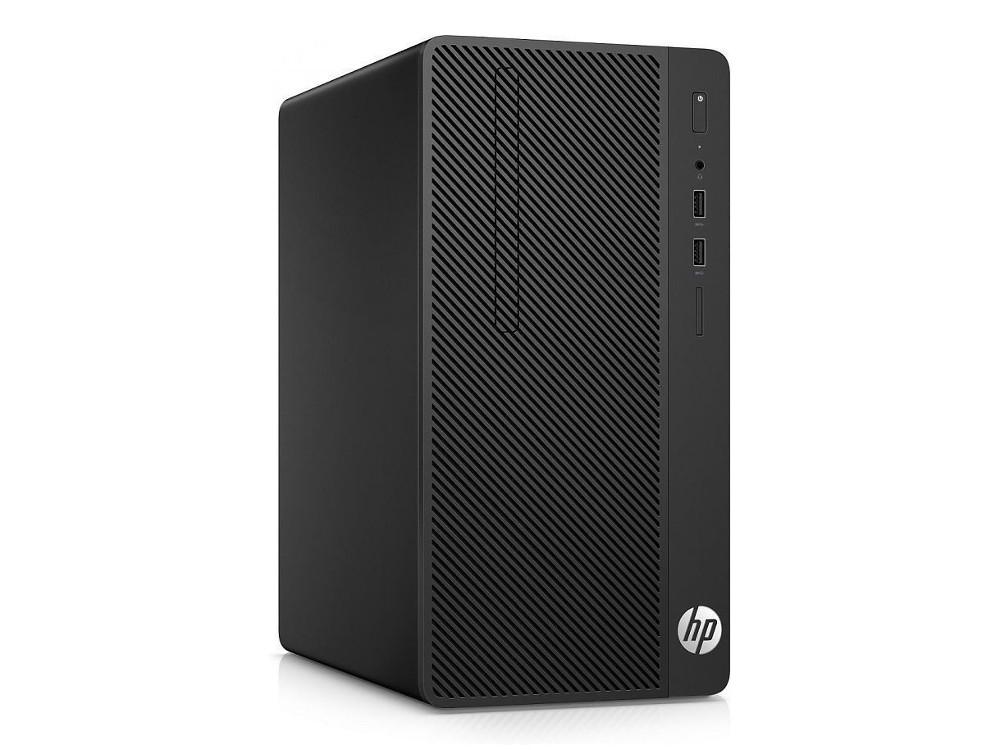 Компьютер HP 290 G1 MT (2RT88ES) i3-7100 (3.9)/4GB/1TB/Int: Intel HD 630/DVD-RW/Kb+M/DOS (Black) компьютер hp 290 g1 mt 1qn73ea i3 7100 3 9 4gb 500gb int intel hd 630 dvd rw kb m dos black монитор v214a