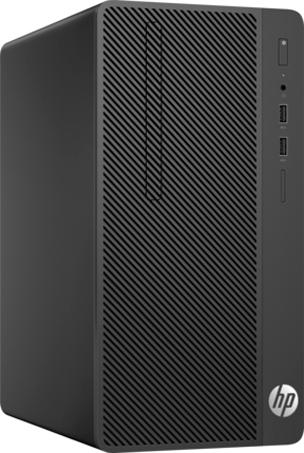 Компьютер HP 290 G1 MT (2MT21ES) i3-7100 (3.9)/4GB/1TB/Int: Intel HD 630/DVD-RW/Kb+M/DOS (Black) компьютер hp 290 g1 mt 1qn73ea i3 7100 3 9 4gb 500gb int intel hd 630 dvd rw kb m dos black монитор v214a