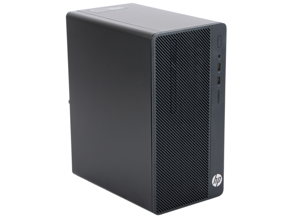 Компьютер HP 290 G1 MT (2MT21ES) i3-7100 (3.9)/4GB/1TB/Int: Intel HD 630/DVD-RW/Kb+M/DOS (Black)
