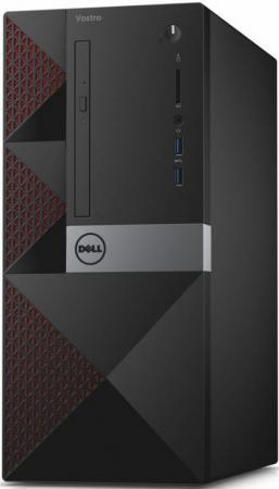 Компьютер Dell Vostro 3667 (3667-8109) Системный блок Black / i3-6100 3.7GHz / 4GB / 1TB / встроенная HDG 530 / DVD нет / Win 10 Pro системный блок hp 280 g2 mt i3 6100 3 7ghz 4gb 1tb dvd rw win10pro клавиатура мышь черный w4a48es