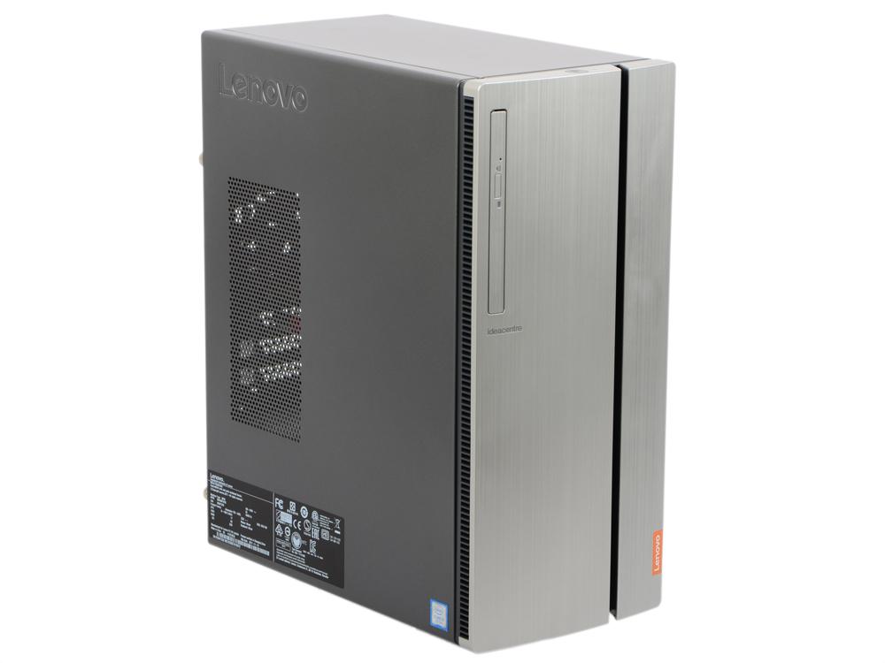 Фото Компьютер Lenovo IdeaCentre 720-18IKL 90H0000SRK Системный блок Black / i3 7100 3.9GHz / 8GB / 1TB / GT730 2GB / DVD-RW / DOS системный блок lenovo ideacentre 720