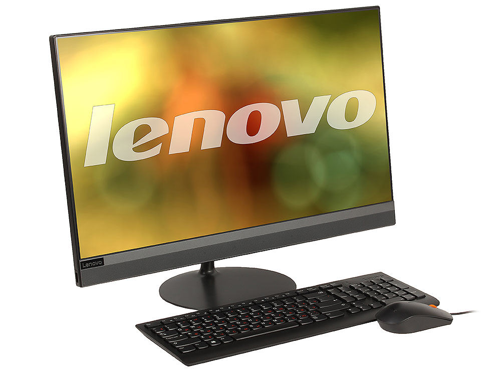 Моноблок Lenovo IdeaCentre AIO 520-24IKL (F0D1001JRK) i3-7100T (3.4)/4GB/1TB+16GB Optane Memory/23.8 1920x1080/AMD 530 2GB/DVD-RW/BT/WiFi/Win10/black