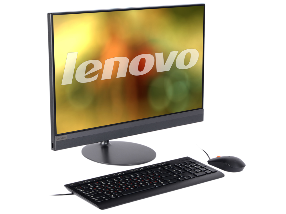 Моноблок Lenovo IdeaCentre AIO 520-24IKU (F0D2003VRK) i5-7200U (2.50)/4GB/1TB/23.8 1920x1080/Intel HD 620/DVD-RW/WiFi/BT4.0/Win10 Black Kb+Mouse