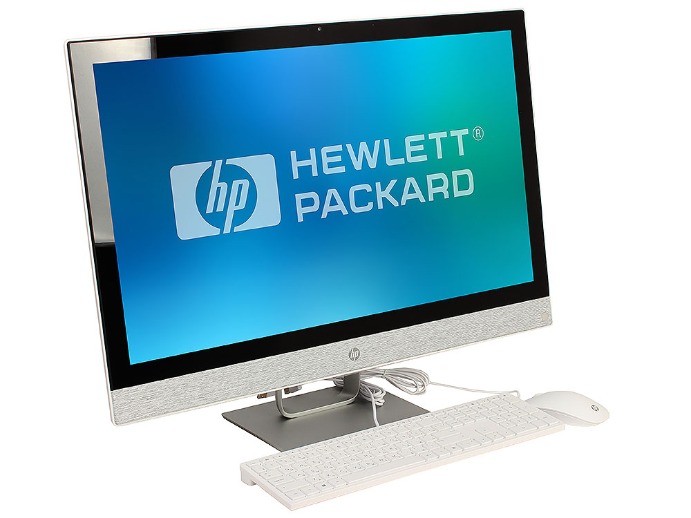 Моноблок HP Pavilion 27 27-r012ur (2MJ72EA) i7-7700T / 8Gb / 1Tb / 27 FHD IPS / HD Graphics 630 / Win 10 / Blizzard White sheli laptop motherboard for hp pavilion dv6 7000 682169 001 48 4st10 021 ddr3 gt630m 1gb non integrated graphics card