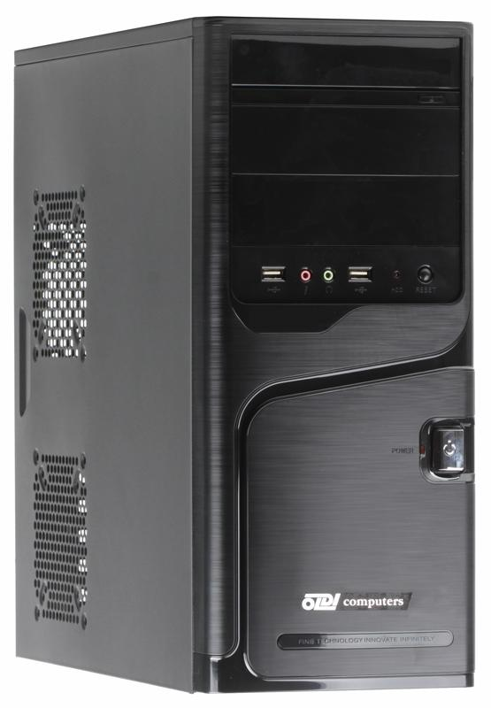 Компьютер Game PC 710 R Pentium G4400 3.3GHz / 4GB / 500GB / дискретная GT1030 2GB / DVD-RW / noOS ноутбук asus x751sj ty017t pentium n3700 1 6ghz 17 3 4gb 500gb dvdrw gt920m 1gb w10 black 90nb07s1 m00860