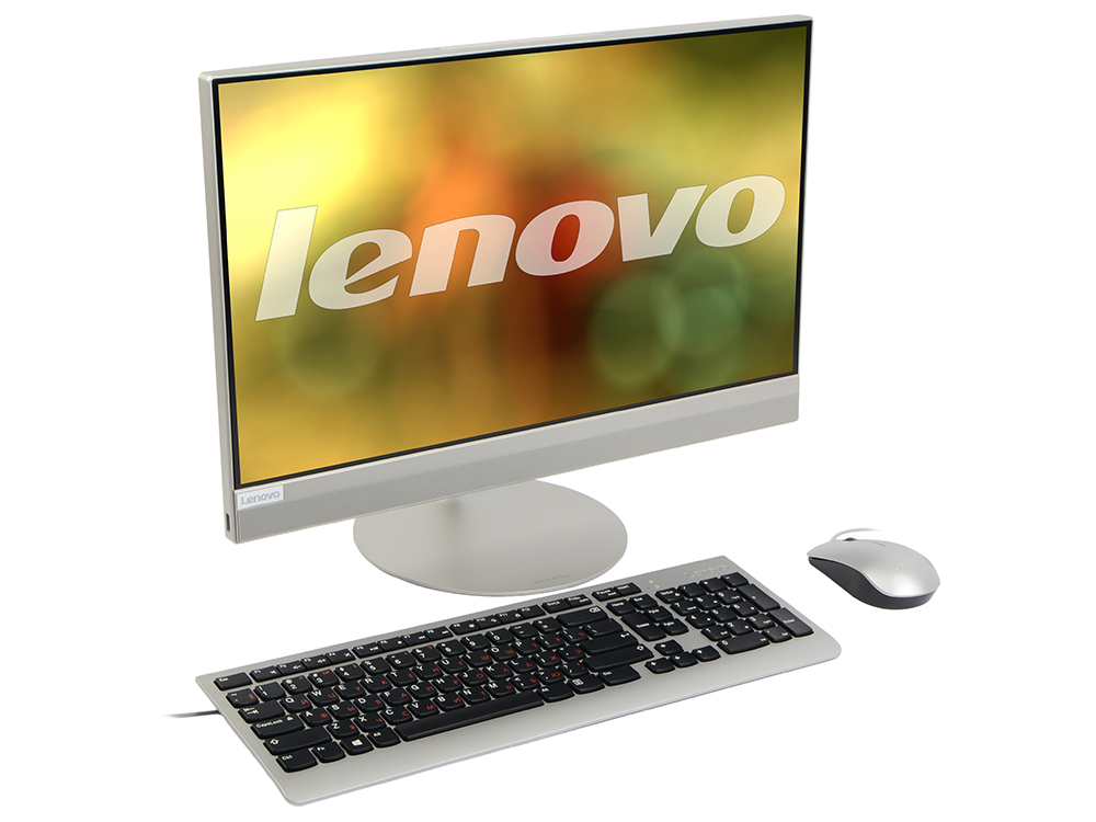 Моноблок Lenovo IdeaCentre AIO 520-22IKL (F0D4000WRK) i3-7100(3.4)/4GB/1TB/21.5(1920x1080)/DVD-SM/Intel HD 630/BT/WiFi/Win10 Silver моноблок lenovo ideacentre aio 520 24ikl f0d1006crk i5 7400t 2 4 8gb 1tb 23 8 fhd 1920x1080 int intel hd 630 dvd sm bt wifi win10 black клавиатура мышь