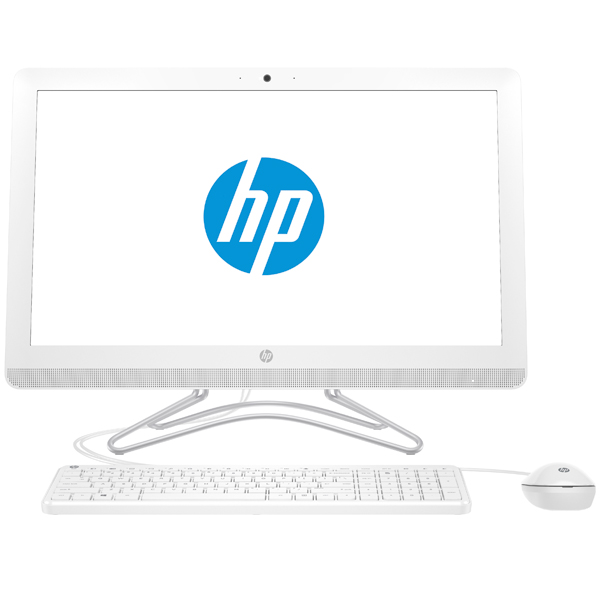 Моноблок HP 24-e046ur (2BW40EA#ACB) i3 7100U(2.4)/4Gb/256Gb SSD/23.8 FHD/DVDrw/NVidia GT920MX 2Gb/BT/WiFi/Win 10/Snow White hp omen 17 w011ur [x5w66ea] black 17 3 fhd i7 6700hq 16gb 1tb 128gb ssd dvdrw gtx965m 4gb dvdrw w10