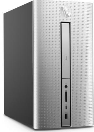 Компьютер HP Pavilion 570 570-p021ur 1GS87EA A12-9800 3.9GHz / 12GB / 2TB / дискретная GeForce GTX1050 2Gb / DVD-RW / Win 10 Home / Black