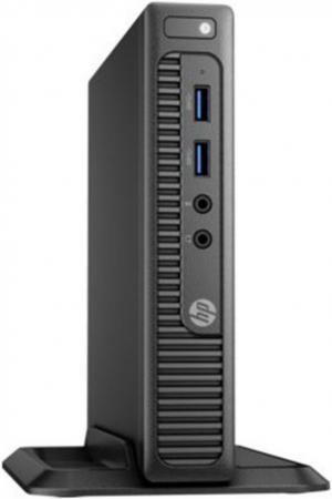 Неттоп HP 260 G2.5 DM (2TP94ES) i3-6100U (2.3) / 4Gb / 256Gb SSD / HD Graphics 520 / Win 10 Pro / Black компьютер hp 260 g2 mini 2tp12ea i3 6100u 2 3 4gb 256gb intel hd 520 wi fi bt win10pro
