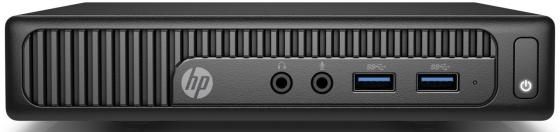 Неттоп HP 260 G2.5 DM (2TP24EA) i5-6200U (2.3) / 4Gb / 256Gb SSD / HD Graphics 520 / Win 10 / Black компьютер hp 260 g2 mini 2tp12ea i3 6100u 2 3 4gb 256gb intel hd 520 wi fi bt win10pro