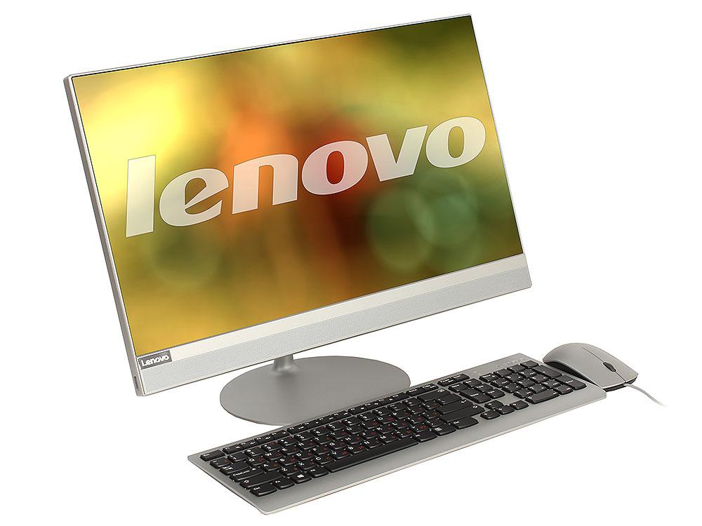 Моноблок Lenovo IdeaCentre AIO 520-22IKU (F0D5002VRK) i3 6006U (2.0)/4GB/1TB/21.5 1920x1080/AMD Radeon 530 2GB/DVD-SM/BT/WiFi/Win10 Silver + клавиатура, мышь моноблок lenovo ideacentre aio 520 22iku ms silver f0d5000srk intel core i5 7200u 2 5 ghz 4096mb 1000gb dvd rw intel hd graphics wi fi bluetooth cam 21 5 1920x1080 dos