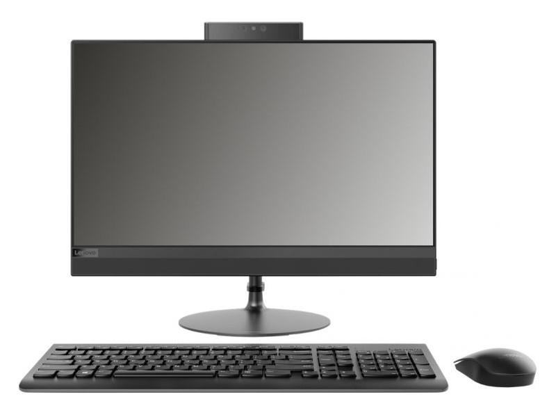 Моноблок Lenovo IdeaCentre AIO 520-22IKL (F0D4000VRK) i3-7100T(3.4)/4Gb/1Tb/21.5 FHD/Int:Intel HD 630/DVD-SM/BT/WiFi/Win10/black + клавиатура, мышь моноблок lenovo ideacentre aio 520 24ikl f0d1006crk i5 7400t 2 4 8gb 1tb 23 8 fhd 1920x1080 int intel hd 630 dvd sm bt wifi win10 black клавиатура мышь