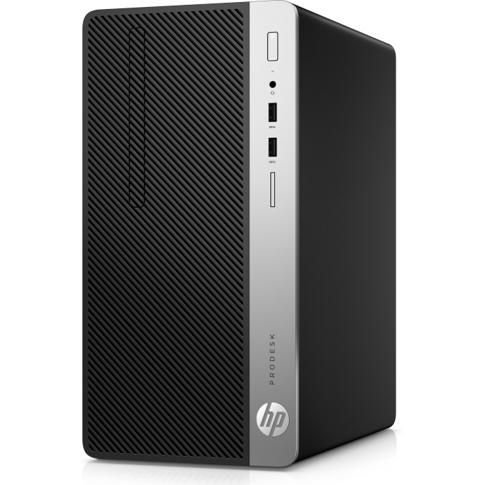 Системный блок HP ProDesk 400 G4 2ZE67ES Core i3-6100 (3.7) / 4GB / 1TB / Intel HD 630 / DVD-RW / Win 10 / Silver