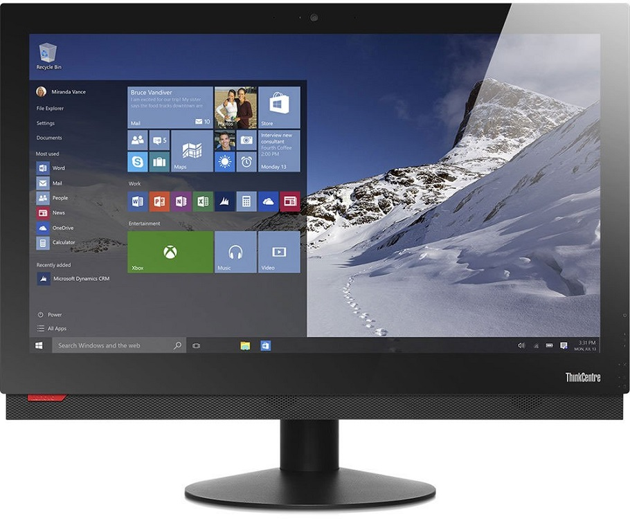 Моноблок Lenovo ThinkCentre M900z (10F3S05300) i7-6700 (3.4) / 8Gb / 256Gb SSD / 23.8 FHD / HD Graphics 530 / Win 10 Pro / Black кеды кроссовки низкие женские dc trase animal