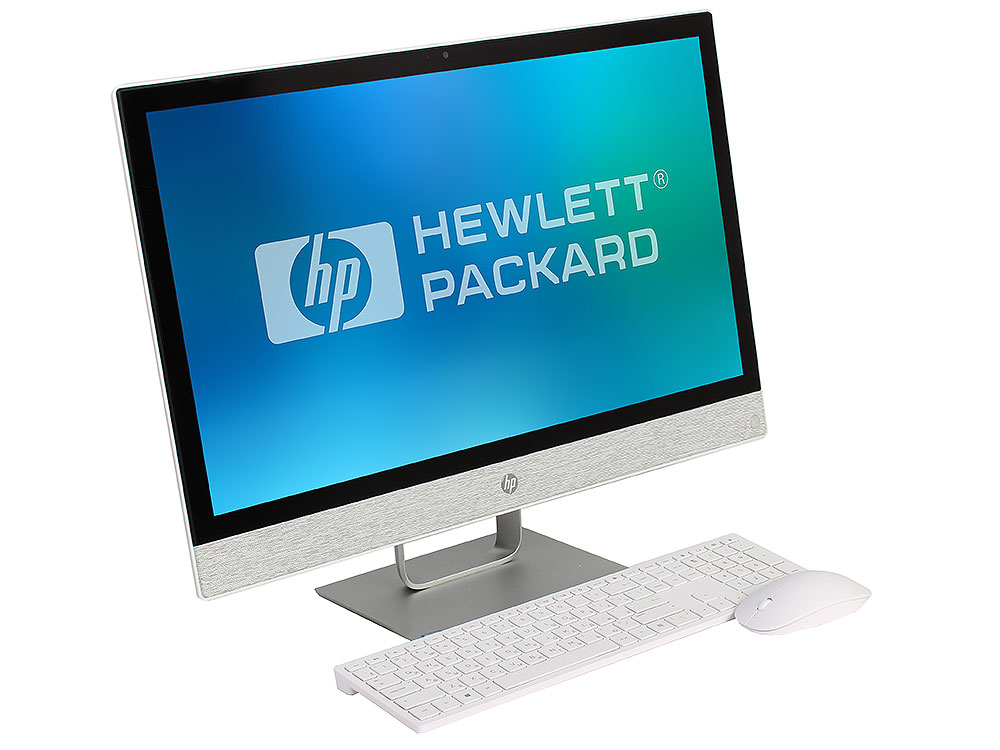Моноблок HP Pavilion 24I 24-r002ur (2MJ39EA) i3-7100T (3.4) / 4Gb / 1Tb + 16 Gb Intel Optane/ 23.8 FHD IPS / HD Graphics 630 / Win 10 / Blizzard White nokotion laptop motherboard for hp pavilion dv6 7000 intel nvdia gt630m graphics ddr3 682168 001 48 4st10 021