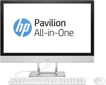 "Моноблок HP Pavilion 24I 24-r002ur (2MJ39EA) i3-7100T (3.4) / 4Gb / 1Tb + 16 Gb Intel Optane/ 23.8"" FHD IPS / HD Graphics 630 / Win 10 / Blizzard White"