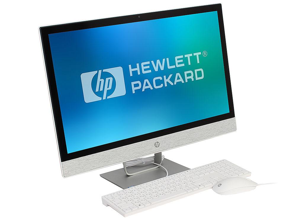 "Моноблок HP Pavilion 24I 24-r016ur (2MJ45EA) i5-7400T (2.4) / 8Gb / 1Tb + 16 Gb Intel Optane / 23.8"" FHD IPS / Radeon 530 2Gb / Win 10 / Blizzard White"