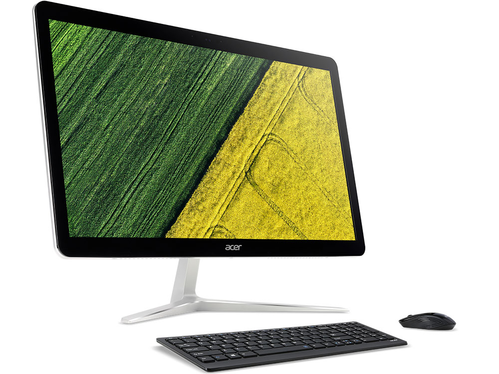 Моноблок Acer Aspire Z24-880 (DQ.B8TER.011) i5-7400T (2.4)/8GB/1TB/23.8 1920x1080/NV GF940MX 2GB/DVD-SM/BT/Win10 Silver ноутбук acer aspire e5 532 p928 nx myver 011 nx myver 011