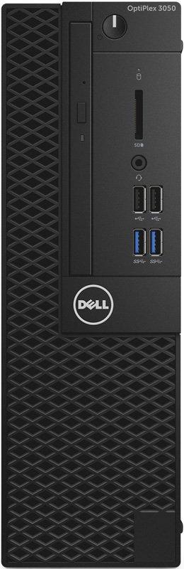 Фото Компьютер DELL Optiplex 3050 (3050-8130) Системный блок Black / i5-6500 3.2GHz / 8GB / 256GB SSD / встроенная HDG 530 / DVD-RW / Linux системный блок