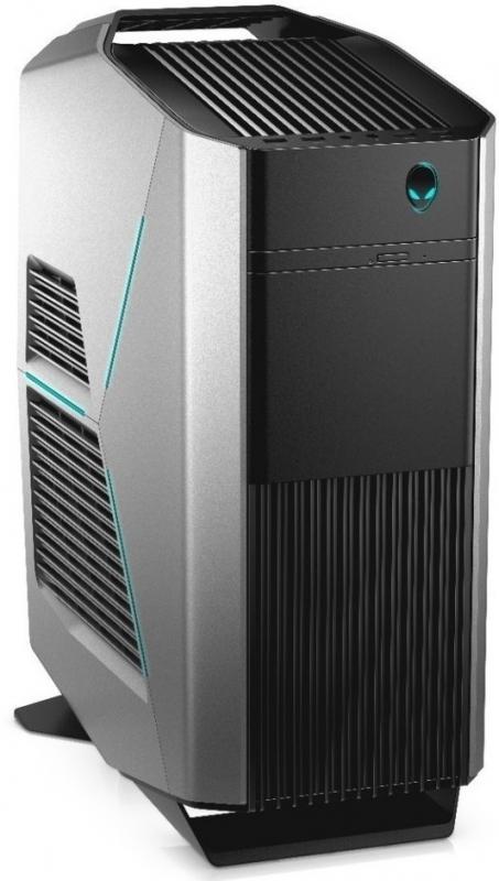 Системный блок DELL Alienware Aurora R7 (R7-9973) Системный блок i7-8700 (3.2)/16GB/2TB HDD + 256Gb SSD/2xAMD RX 580 8GB/Win10 (Black/Silver) блок питания dell pp19l бу