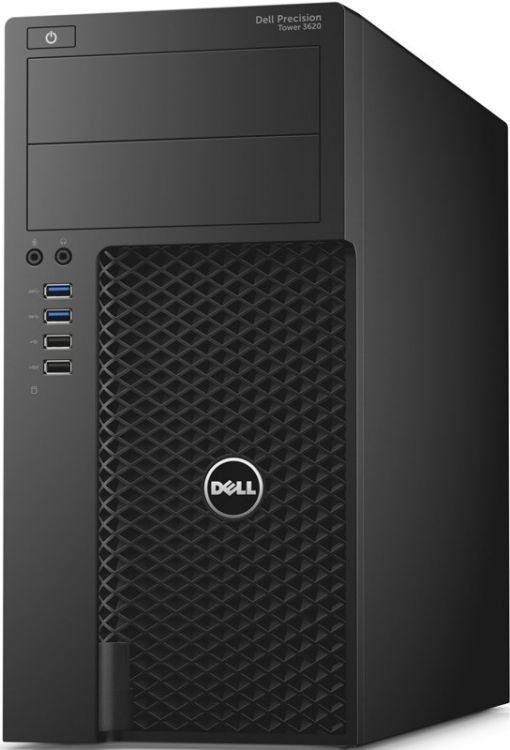 Системный блок DELL Precision 3620 i7-6700 3.4GHz 8Gb 4Tb HD530 DVD-RW Win10Pro черный 3620-2653 системный блок hp z240 e3 1230v6 3 5ghz 8gb 1tb quadro p400 2gb dvd rw win10pro черный 1wv11ea