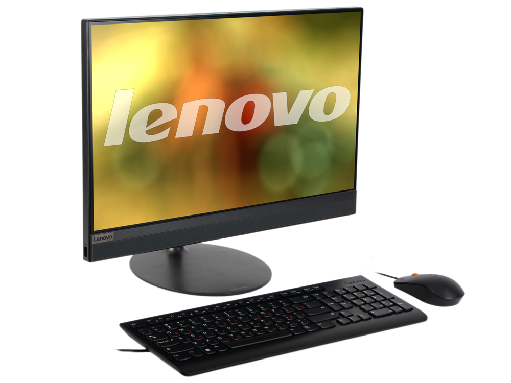 Моноблок Lenovo IdeaCentre AIO 520-22IKU (F0D50010RK) i5-7200U (2.50)/4GB/1TB + 16GB Optane Memory/21.5 1920x1080/RD 530 2GB/DVD-RW/WiFi/BT4.0/Win10 Black Kb+Mouse