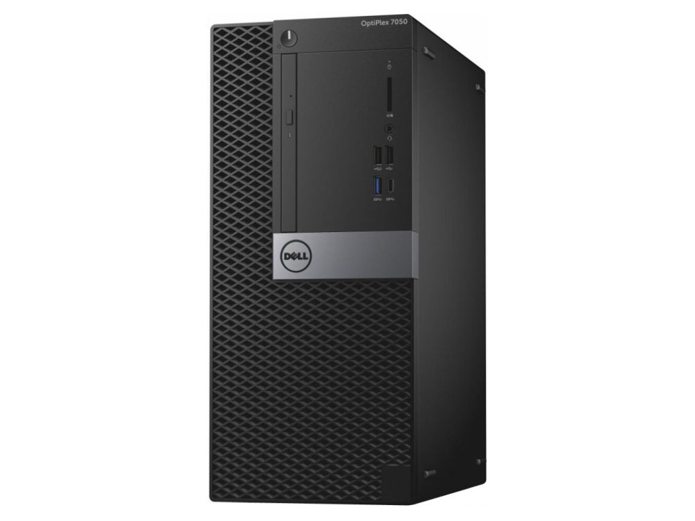 Системный блок DELL Optiplex 7050 MT (7050-4846) i7-7700 (3.6)/16GB/1TB/AMD R7 450 4GB/DVD-SM/KB+M/Win10Pro (Black) системный блок dell optiplex 7050 mt
