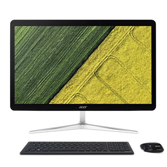 Моноблок Acer Aspire U27-880 (DQ.B8RER.004) i7-7500U (2.7)/16Gb/2Tb+16Gb Hybrid Drive/27 FHD TN Touch/HD Graphics 620/Win 10 / Silver vg 86m06 006 gpu for acer aspire 6530g notebook pc graphics card ati hd3650 video card