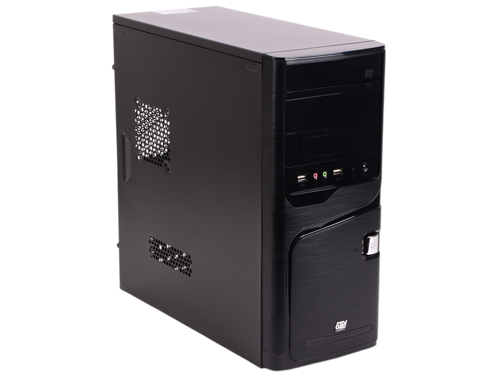 Компьютер Office 120R (2018) Системный блок Intel Celeron G3900 (2.9) / 4GB / 1TB / Int: Intel HD 610 / noODD / DOS (Black) компьютер office 110 системный блок black celeron g4900 3 1ghz 4gb 1000gb встроенная hdg 610 dos