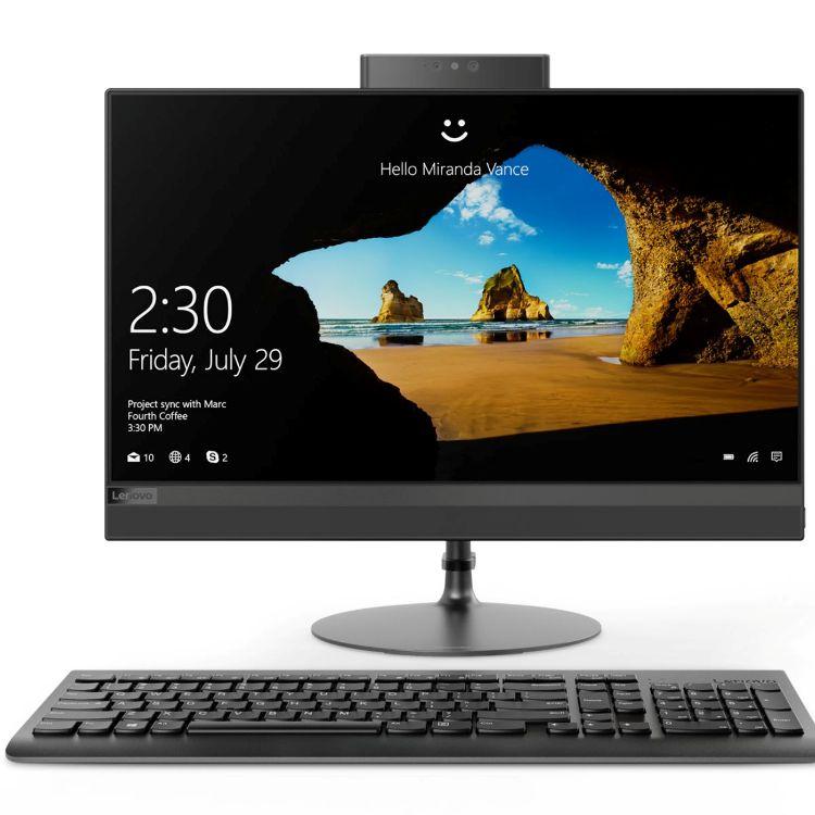 Моноблок Lenovo IdeaCentre AIO 520-24IKL (F0D1001CRK) Pentium G4560T (2.9)/4GB/1TB/23.8'' FHD/HD Graphics 610//Win10/Black ноутбук dell vostro 3568 3568 0221 pentium 4415u 2 3 4gb 1tb 15 6 hd tn hd graphics 610 linux black