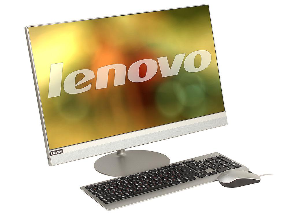 Моноблок Lenovo IdeaCentre AIO 520-24IKL (F0D10063RK) Pentium G4560T (2.9)/4GB/1TB/23.8'' (1920x1080)/RD 530 2GB/WiFi/BT4.0/Kb+m/Win10 Silver цена и фото