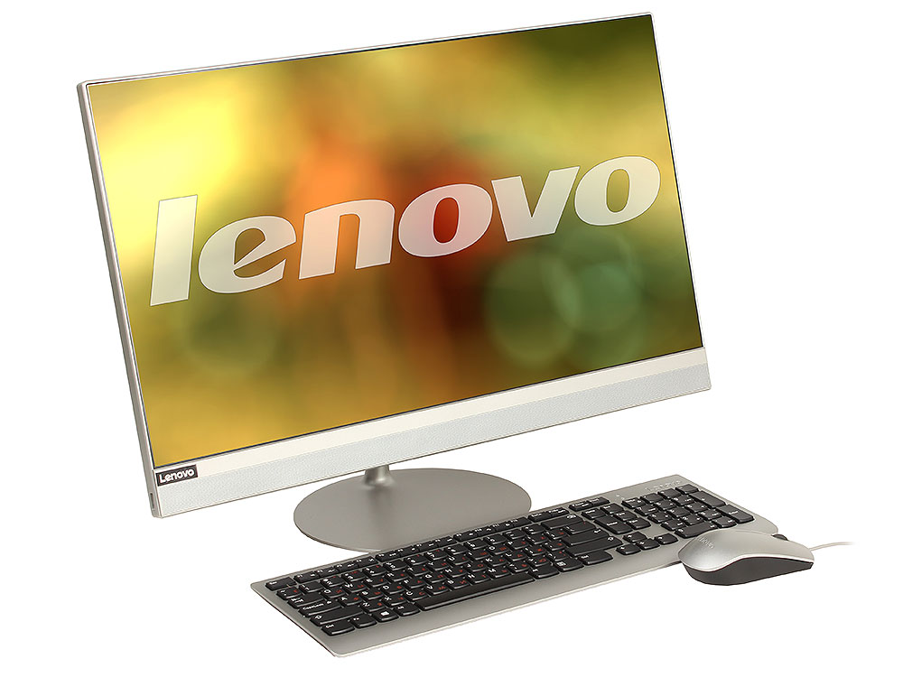Моноблок Lenovo IdeaCentre AIO 520-24IKL (F0D1005VRK) i5-7400T (2.4)/4GB/1TB/23.8 FHD/HD Graphics 630/Win10/Silver