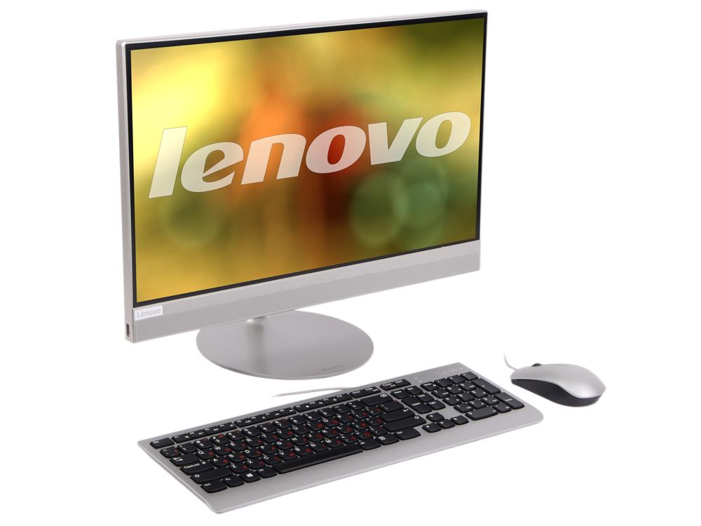 Моноблок Lenovo IdeaCentre 520-22IKL (F0D4000SRK) Pentium G4560T (2.9)/4Gb/1Tb/21.5 FHD TN/HD Graphics 610/Win10 Home/Silver моноблок lenovo c20 00