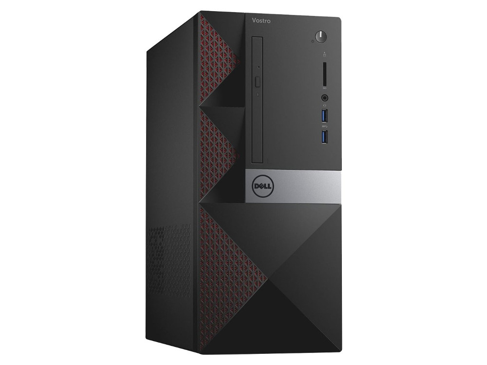ПК Dell Vostro 3568 MT (3668-1757) i3-7100 (3.9) / 4GB / 1TB / NV GF GT710 2GB / DVD-SM / WiFi / BT / KB+M / Linux (Black) ноутбук dell vostro 3568