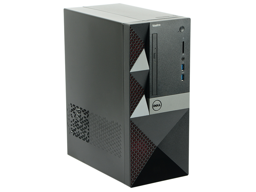 ПК Dell Vostro 3568 MT (3668-1771) i3-7100 (3.9) / 4GB / 1TB / NV GF GT710 2GB / DVD-SM / WiFi / BT / KB+M / Win10Pro (Black) ноутбук dell vostro 3568