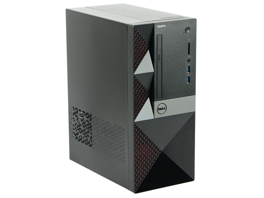 ПК Dell Vostro 3568 MT (3668-1788) i5-7400 (3.0) / 8GB / 1TB / NV GF GT710 2GB / DVD-SM / WiFi / BT / KB+M / Linux (Black) ноутбук dell vostro 3568