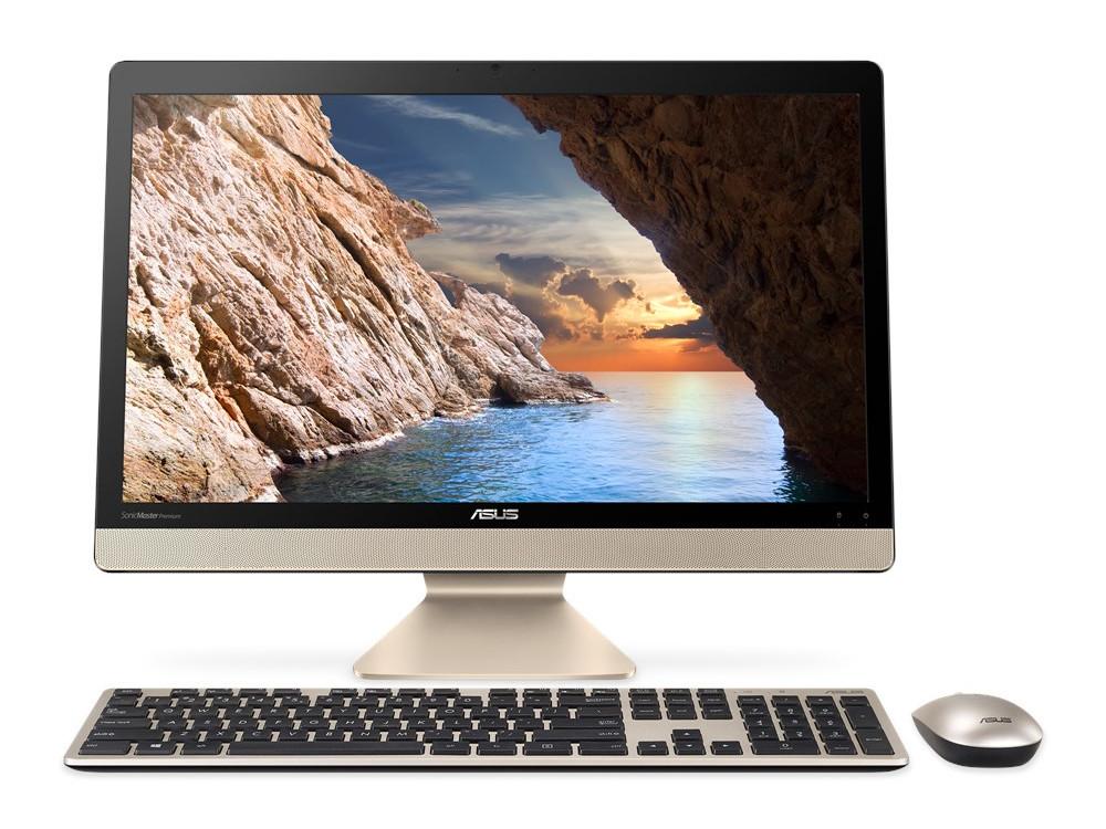 Моноблок ASUS V221ICGK-BA061T Core i5-7200U (2.5) / 4GB / 1000GB / 21.5 FHD / NV GF 930MX 2GB / WiFi / BT / Cam / KB+M / Win10 (Black) ноутбук dell vostro 5468 core i5 7200u 4gb 1tb nv 940mx 2gb 14 0 win10 grey