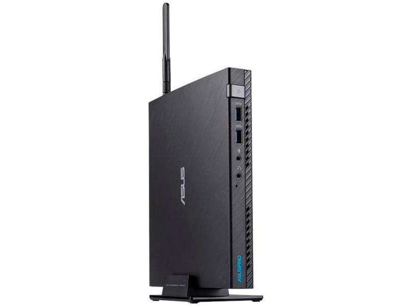 Неттоп Asus VivoPC E520-B093Z (90MS0151-M00930) i3-7100T (3.4) / 4GB / 1TB / Int: Intel HD 630 / WiFi / BT / Win10 (Black) неттоп asus vivopc vm62 g294z slim 90ms00d1 m02950