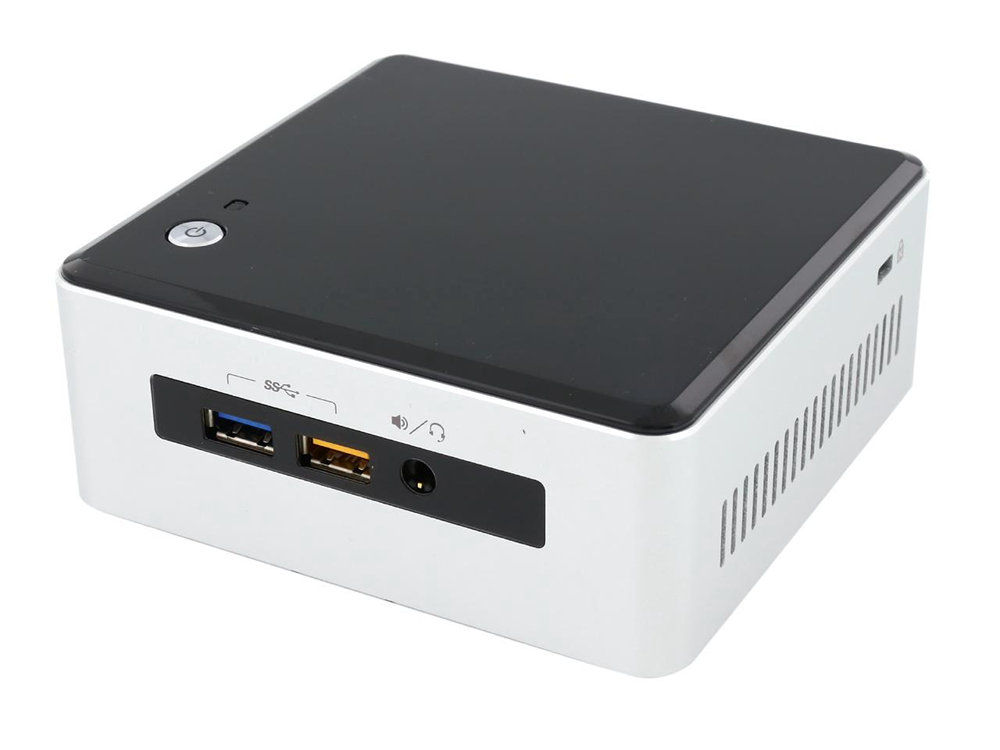 Платформа Intel NUC (BOXNUC5I3RYH) i3-5010U (2.1) / 2 x SO-DIMM DDR3 / M.2 SSD + 2.5 HDD / Int: Intel HD 5500 / noODD / WiFi / BT / noOS платформа intel nuc original de3815tykhe intel atom e3815 1 46 ггц 4gb emmc so ddr3l x1 1 35v 1 х 2 5hdd int hd 1 x hdmi 1 x usb 3 0 2 x usb 2 0