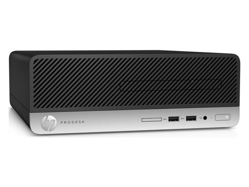 ПК HP ProDesk 400 G4 (1JJ80EA) i7-7700T (3.6) / 4GB / 256GB SSD / Int: Intel HD 630 / DVD-RW / Win10Pro (Black/Silver) компьютер hp prodesk 400 g4 sff intel core i7 7700 3 6ghz 4gb ssd256gb dvdrw hd graphics 630 w10pro 1jj80ea